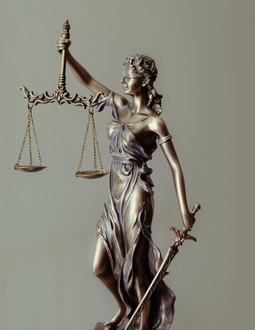 lawyer statue