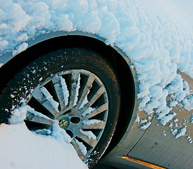 Bad Weather Causes a Car Accident